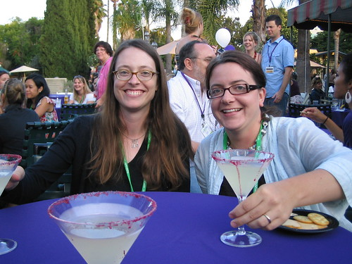 me and Erin at BlogHer