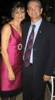 Selene e José Mauro Cota