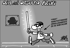 Dia del Orgullo Friki by Forges