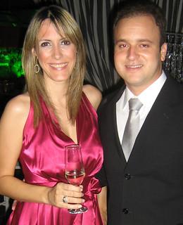 Mônica Martins e Bruno Letieri