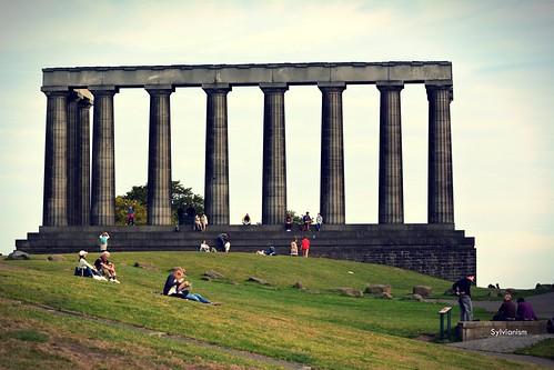 National monument of Scotland Sylvianism Photo Album