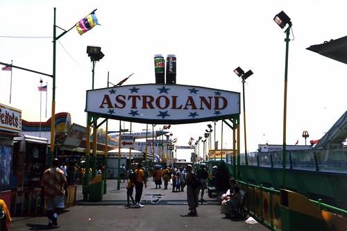 Astroland, parque de atracciones en Coney Island