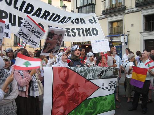 Manifestación en solidaridad con Palestina (Madrid)