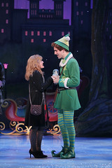 Maggie Anderson and Daniel Patrick Smith from the Elf The Musical tour company presented by Broadway Sacramento at the Community Center Theater Nov. 6 – 15, 2015. Photo by Chris Bennion.