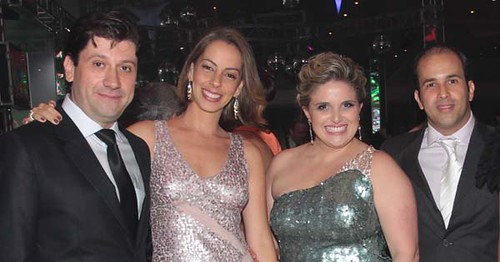 Luís Márcio Ramos e Adriana, Fernanda e Gustavo de Souza