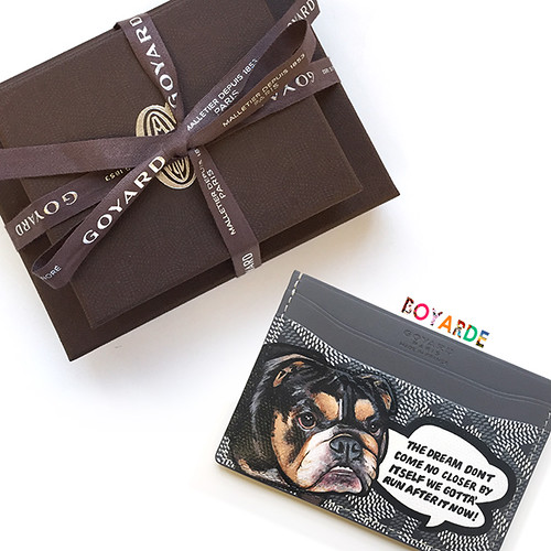 Goyard bulldog cardholder carlitos way and box copy