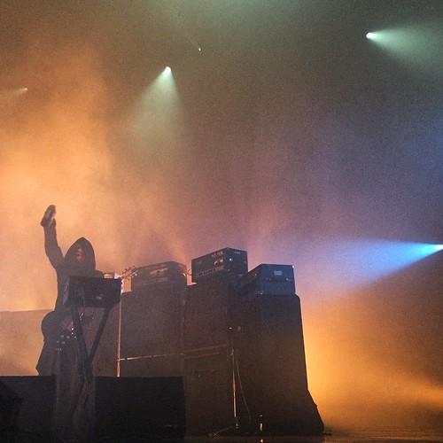 Sunn 0))) Meltdown Festival.