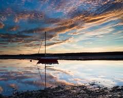 """Findhorn Bay Sunset • <a style=""""font-size:0.8em;"""" href=""""http://www.flickr.com/photos/26440756@N06/21794029376/"""" target=""""_blank"""">View on Flickr</a>"""