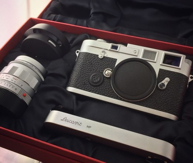 Leica Mp3 Set Silver Lhsa Special Edition With  Asph