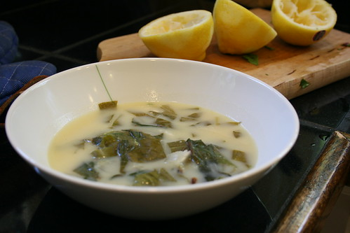 lemon sorrel soup
