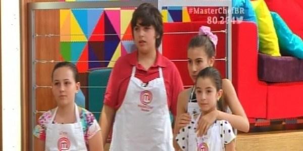 """Com prato de restaurante, crianças vão à semifinal do """"MasterChef Júnior"""""""