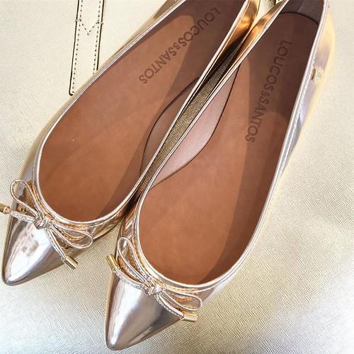 Glamour com precinho precinho na sapatilha super macia Loucos e Santos