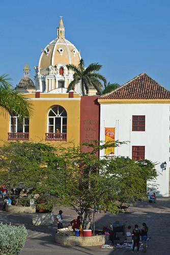 Dome of Cartagena Cathedral (Cartagena - Colombia)