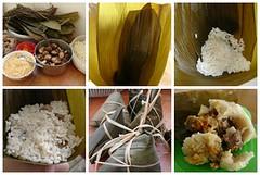 Process of Making Rice Dumplings