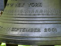 September 11 2001 Bell in Saint Paul's Church ...