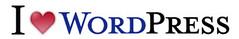 I ♥ WordPress Logo