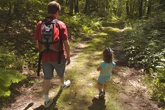 Hiking at Moore State Park 5