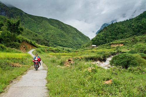 Route 32 to Sapa