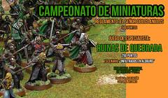 Cartel Campeonato Miniaturas