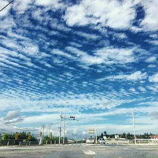 不同國家的天空.....