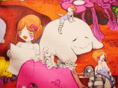 My pink Lesportsac--2007Artist Edition 法國設計師FAFI