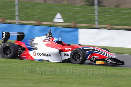 HHC Motorsport's Will Palmer in BRDC F4 Race 3 at Donington Park, September 2015