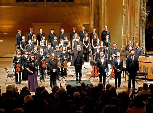Passion selon Saint-Jean de Bach avec Aedes et Les Surprises sous la direction de Mathieu Romano au Festival d'Epau.