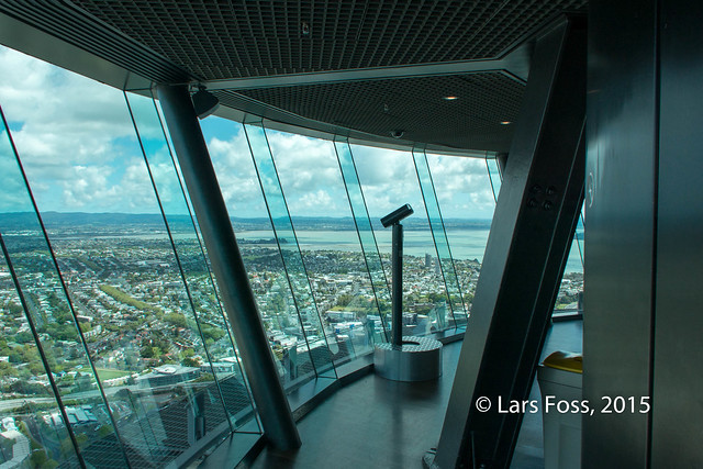Sky Deck (60th floor) in Sky Tower, 220m above ground