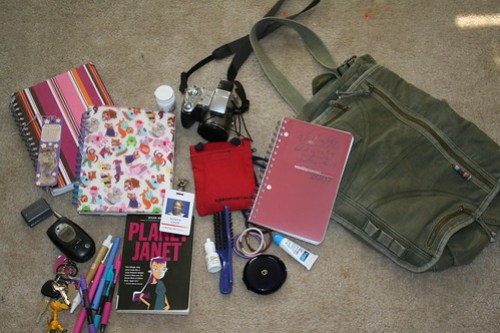 What's In My Bag? - July 9, 2006
