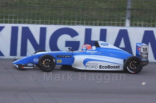 Matheus Leist in MSA Formula at Rockingham, September 2015