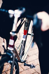 """Wichita Flag on Bike • <a style=""""font-size:0.8em;"""" href=""""http://www.flickr.com/photos/122323674@N05/32277194320/"""" target=""""_blank"""">View on Flickr</a>"""