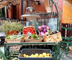Carretto di frutta e verdura!
