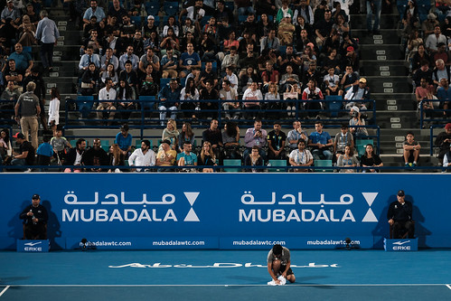 """Ball boy wiping the court due to humidity • <a style=""""font-size:0.8em;"""" href=""""http://www.flickr.com/photos/125636673@N08/31952983426/"""" target=""""_blank"""">View on Flickr</a>"""