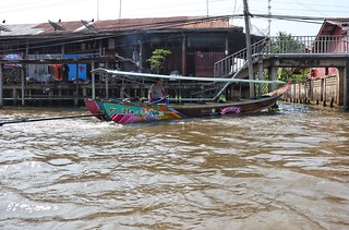 Our 1st boat, Damnoen Saduak Floating Market