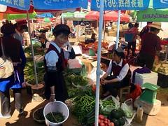 Markt in Songgui