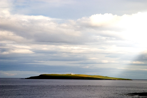 Orkney - August 2006 - Copinsay and lighthouse