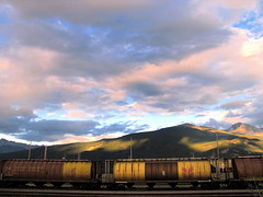 Kamloops train yards