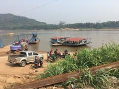 Fähre über den Mekong