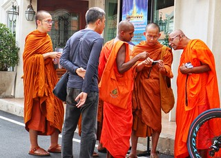 Monks, Bangkok