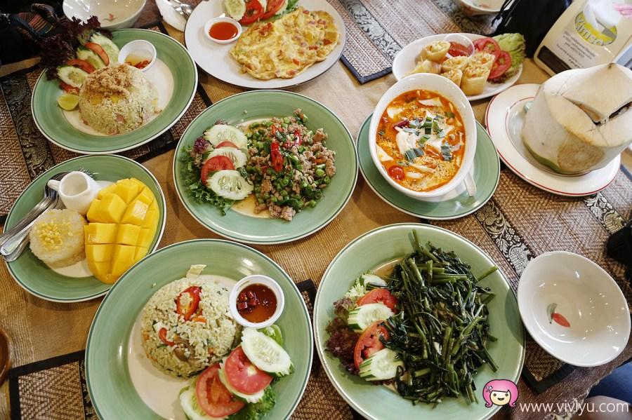 Cafe de Thaan Aoan,清邁古城,清邁平價美食,清邁早午餐,清邁美食清,邁泰式料理 @VIVIYU小世界