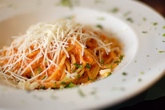 Spaghetti in Tomato Cream Sauce by disneymike