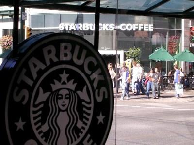 Starbucks citado por David - Foto por Rob