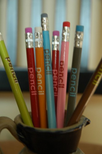 Self-Referential Pencils