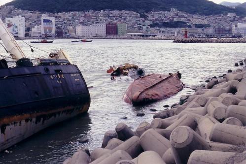 Taifun aftermath