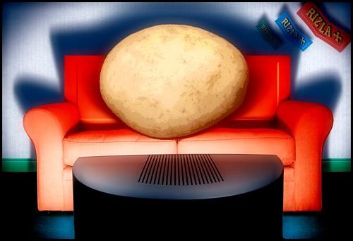Potato Head - Couch Potato : )