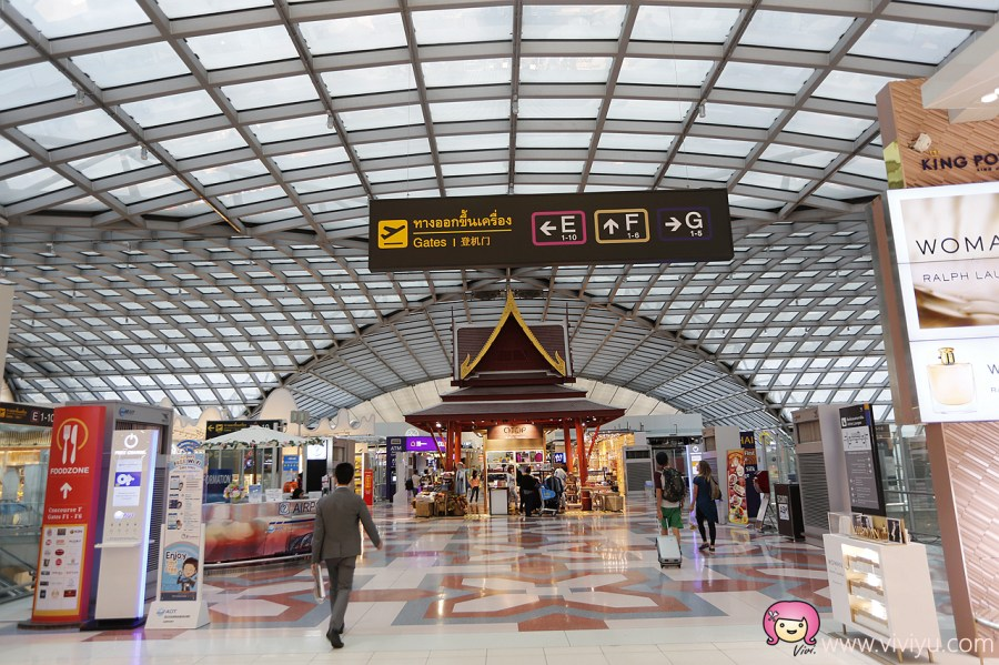 BBK,JCB,機場貴賓室,泰國,泰國旅遊,泰國機場,素萬那普國際機場 @VIVIYU小世界