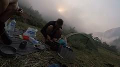 Friedliches Campen nach der Büffelattake