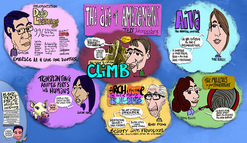 2 of 2: TEDxJohannesburg -- The Age of Amazement -- Wow Oh Wow