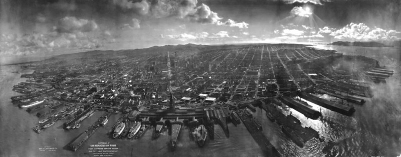 San Francisco in ruin after 1906 Earthquake