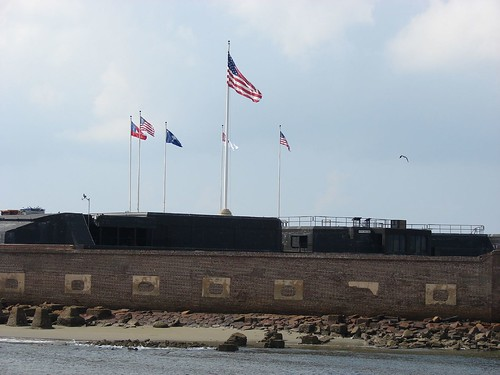 Ft. Sumter in Charleston Harbor by you.